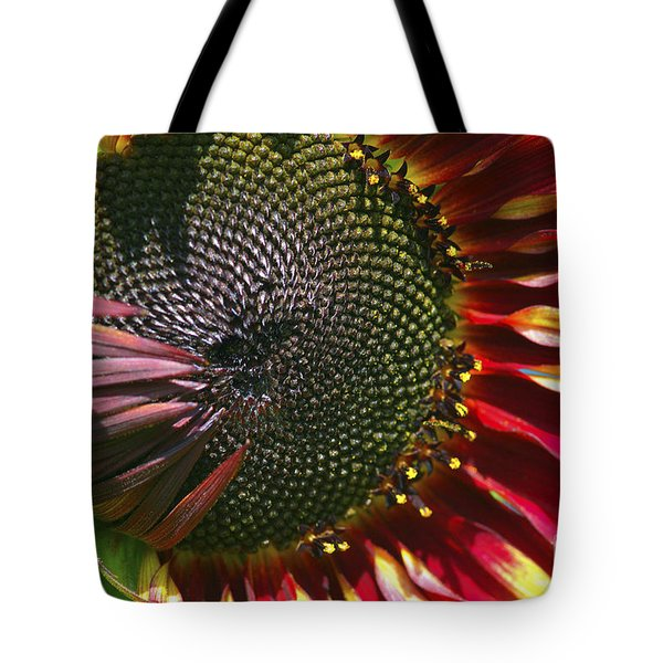 A Sunflower For The Birds Tote Bag by Sharon Talson