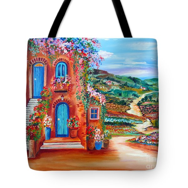 A Sunny Day In Chianti Tuscany Tote Bag