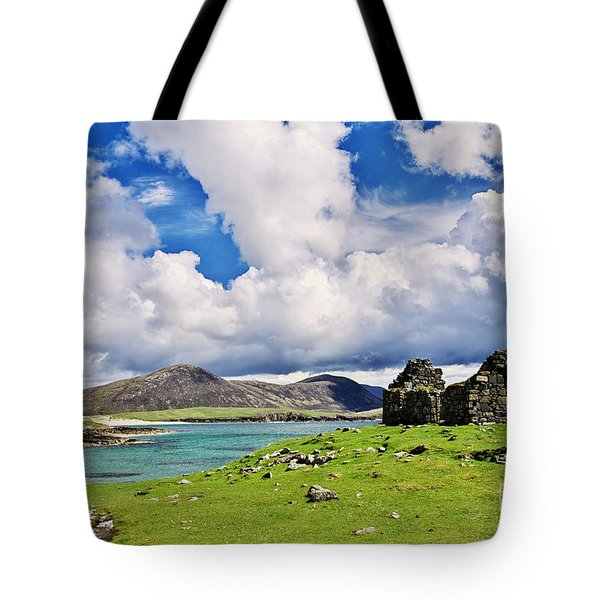 A Sunny Day In The Hebrides Tote Bag by Juergen Klust