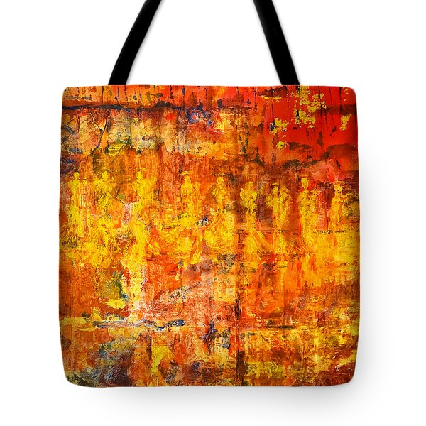 A Sunset Of Angels Tote Bag