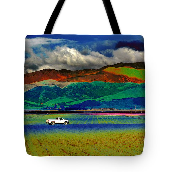 Tote Bag featuring the photograph A Surreal Ride by Susan Wiedmann