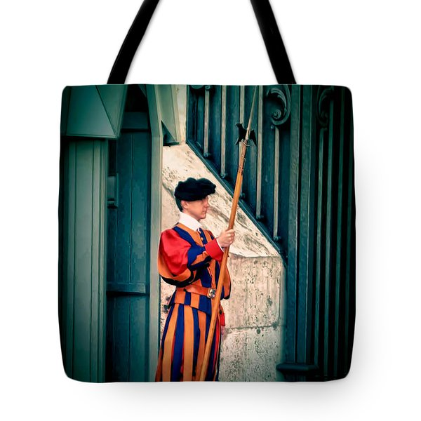 A Swiss Guard Tote Bag
