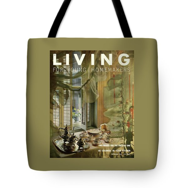 A Table Set By Community With China By Royal Tote Bag