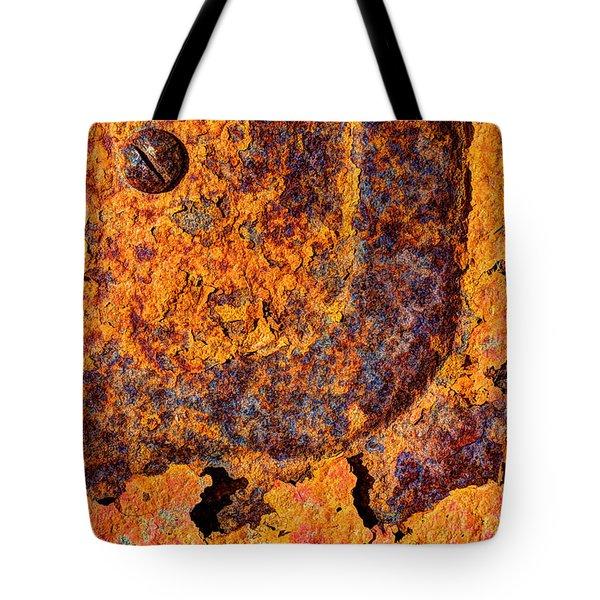 A Tad Rusty Tote Bag by Heidi Smith