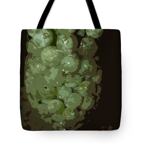 A Tall Glass Of Grapes Tote Bag by Robert Margetts