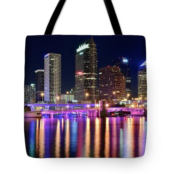A Tampa Bay Night Tote Bag