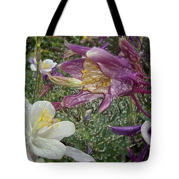 a taste of dew i do and PCC  garden too     GARDEN IN SPRING MAJOR Tote Bag