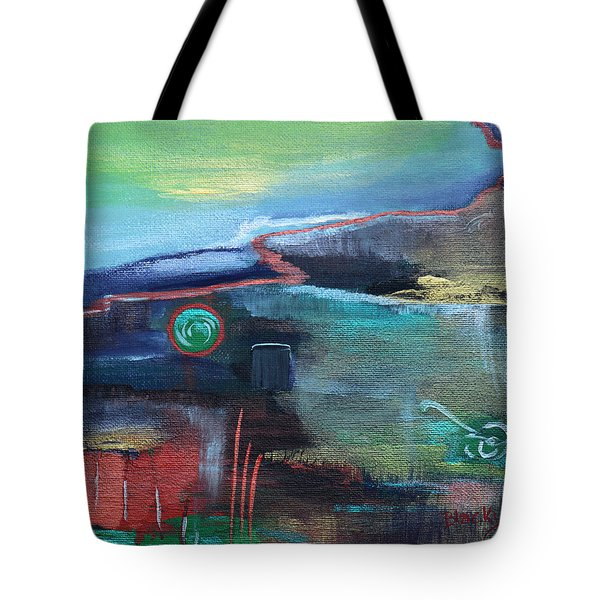 A Tear In Time Tote Bag by Donna Blackhall