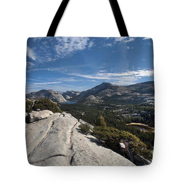 A Tenaya View Tote Bag by Joe Schofield