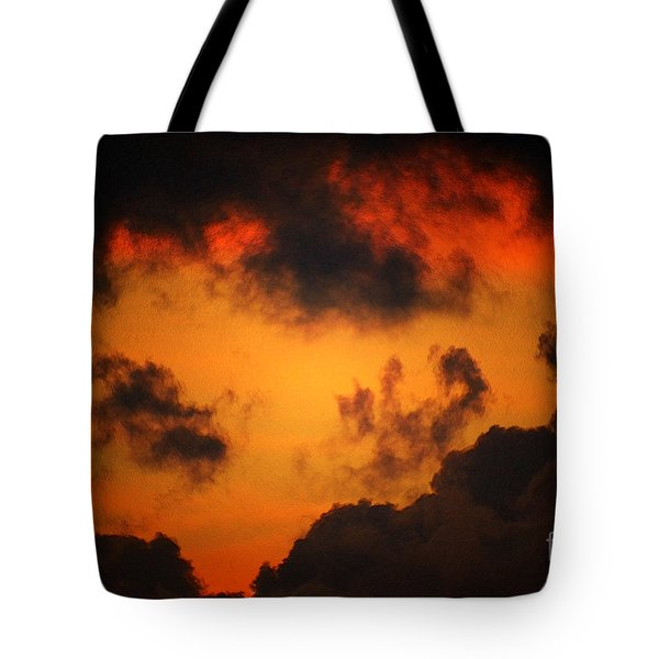 A Textured Morning Tote Bag