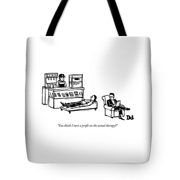 A Therapist's Office With A Concession Stand Tote Bag