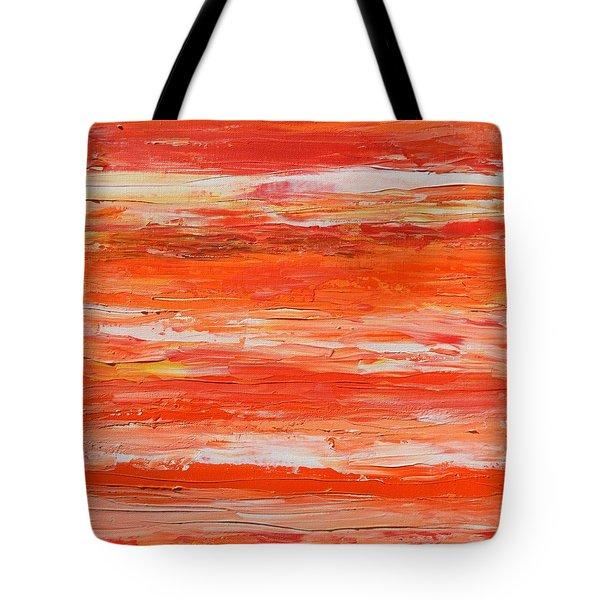 A Thousand Sunsets Tote Bag by Donna  Manaraze