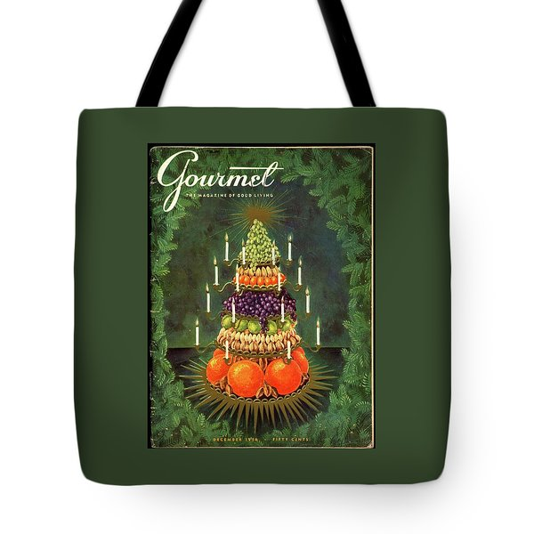 A Tiered Christmas Centerpiece Tote Bag