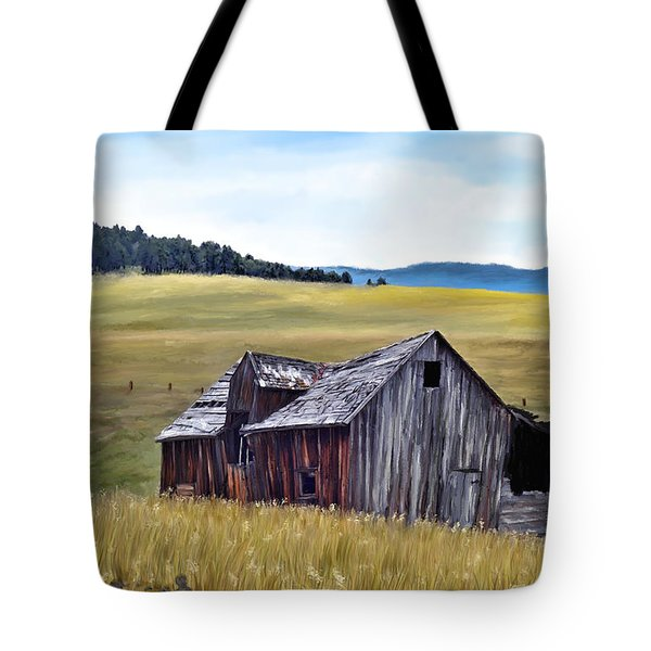 A Time In Montana Tote Bag