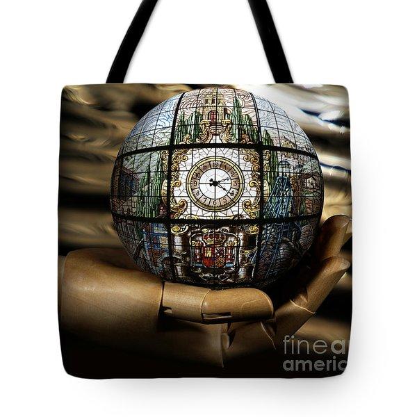 A Times Droplet Meditation Tote Bag