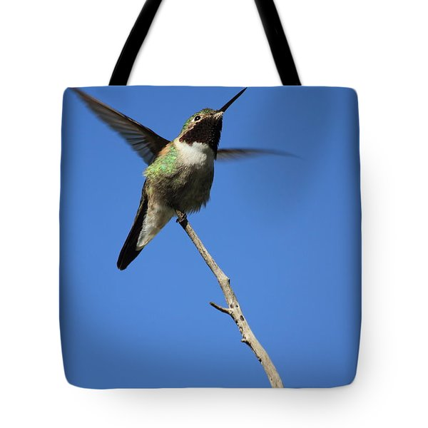A Tiny Flutter Tote Bag