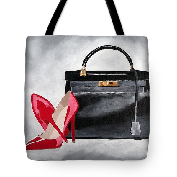A Touch Of Class Tote Bag by Rebecca Jenkins