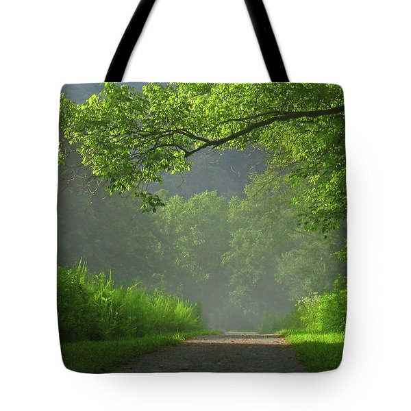 A Touch Of Green II Tote Bag