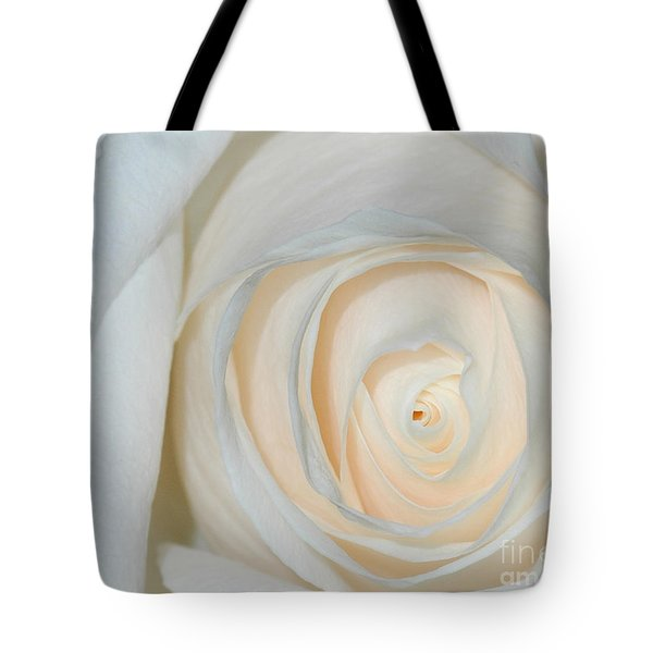 A Touch Of Peach Tote Bag by Sami Martin