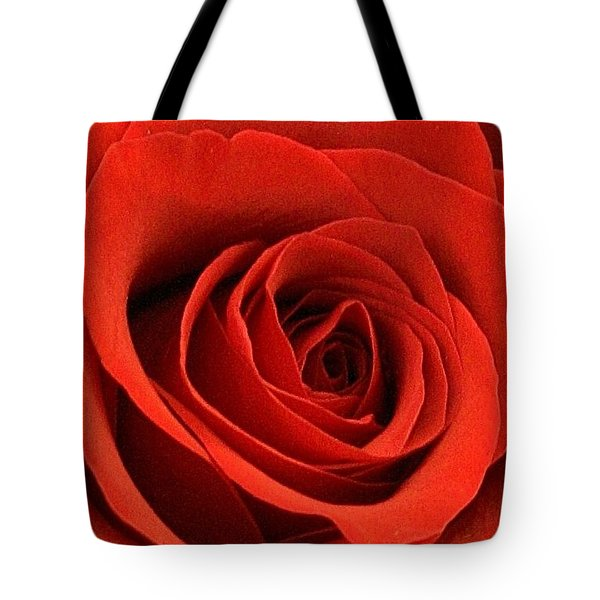 Tote Bag featuring the photograph A Touch Of Red Velvet by Bruce Bley