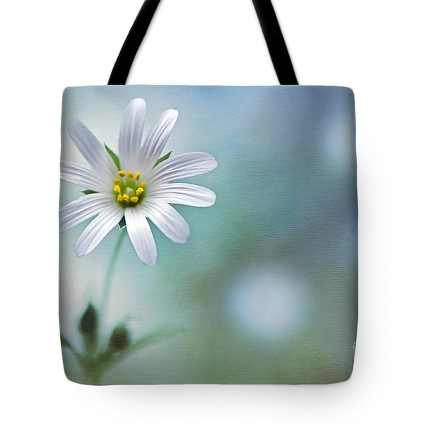 A Touch Of White Tote Bag by Jacky Parker