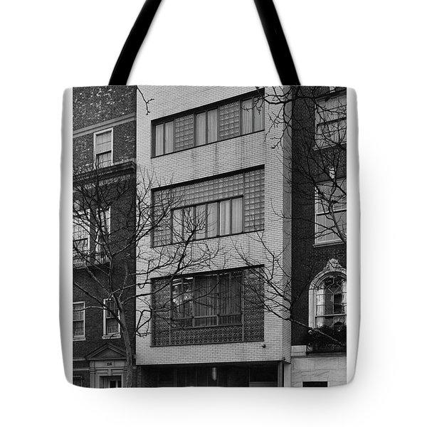 A Townhouse Designed By William Lescaze Tote Bag