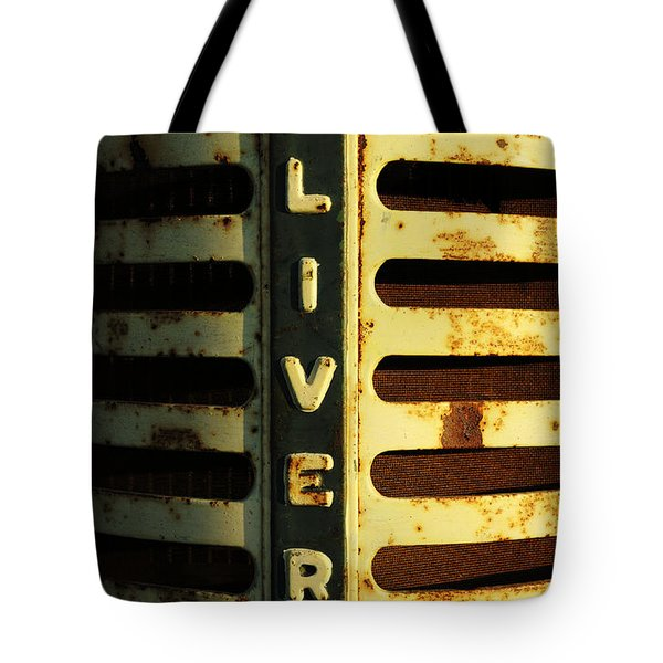 A Tractor Named Oliver Tote Bag