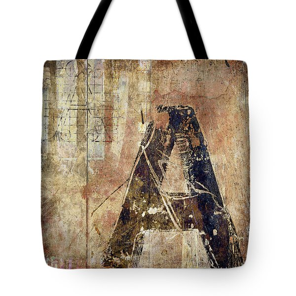 A Train Tote Bag by Carol Leigh