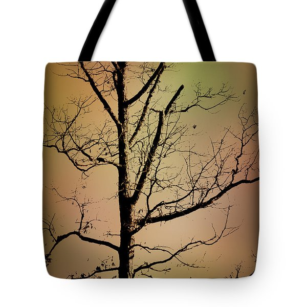 A Tree By The Lake Tote Bag