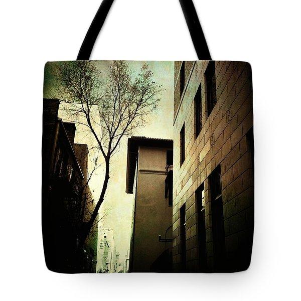 A Tree Grows In Albuquerque Tote Bag