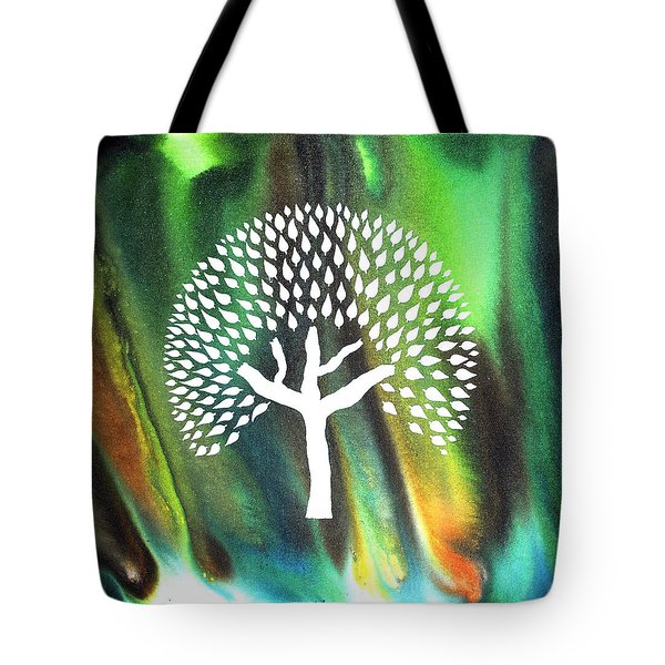 A Tree I Dreamt Of  Tote Bag by Sumit Mehndiratta