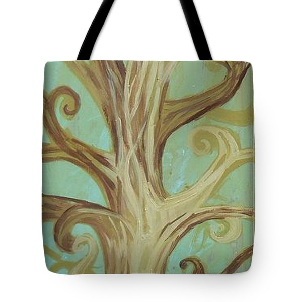 A Tree In Paris Tote Bag by Genevieve Esson