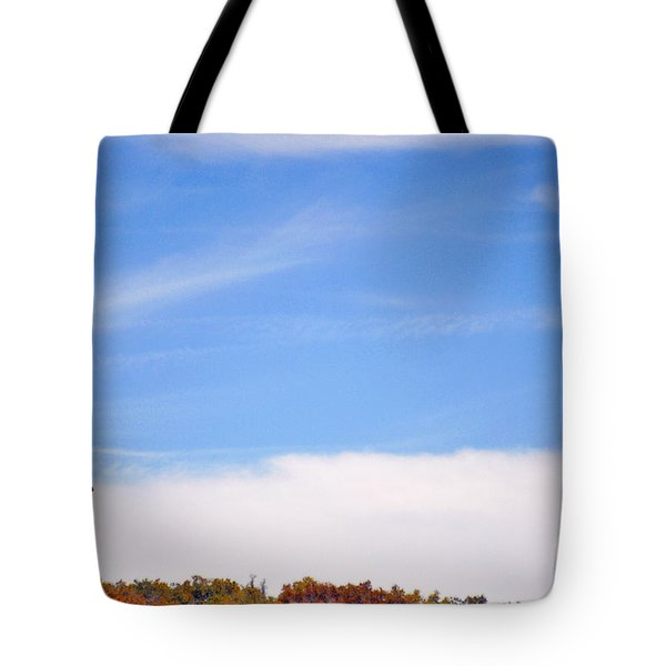 A Tree In The Meadow  Tote Bag