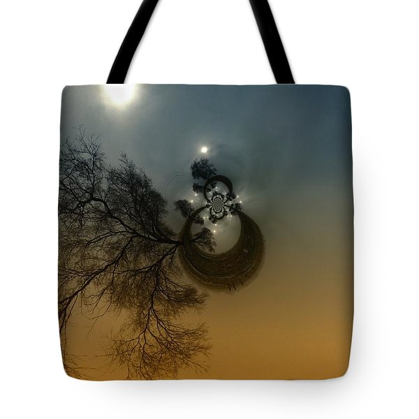 A Tree In The Sky Tote Bag by Jeff Swan
