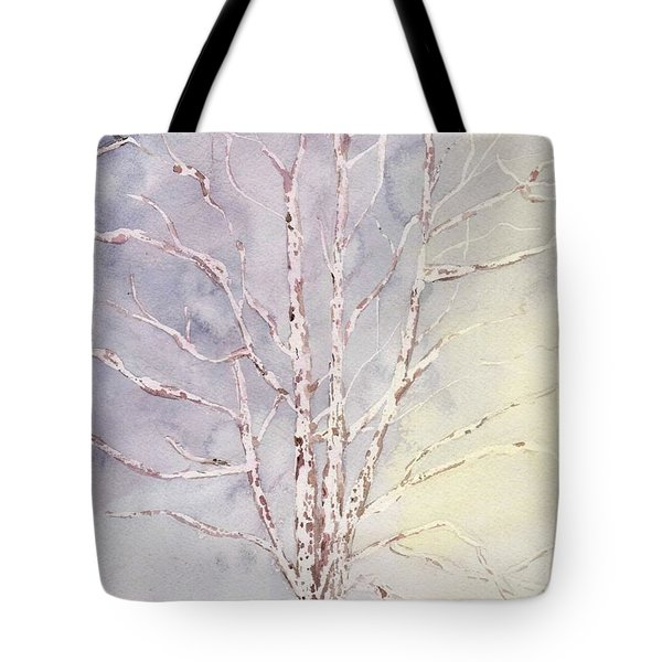 A Tree In Winter Tote Bag