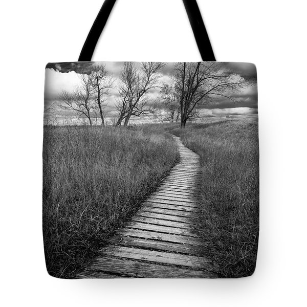 A Tree's Road Tote Bag