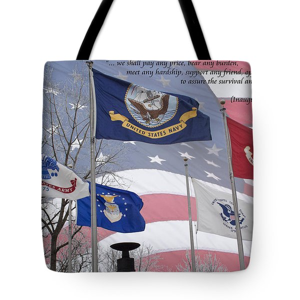 A Tribute To Our Freedom Tote Bag