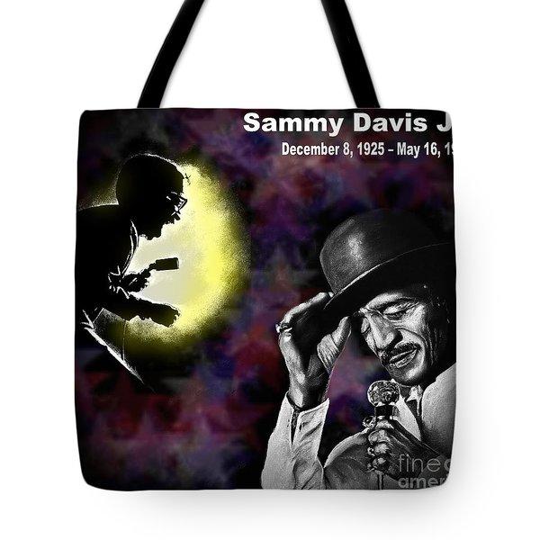 A Tribute To Sammy David Jr Tote Bag