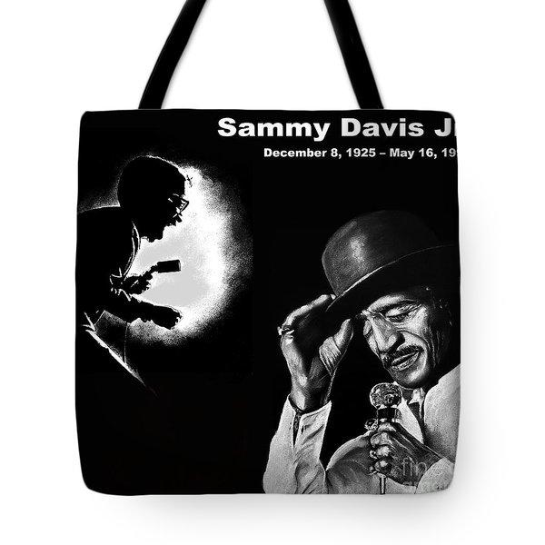 A Tribute To Sammy Davis Jr Tote Bag