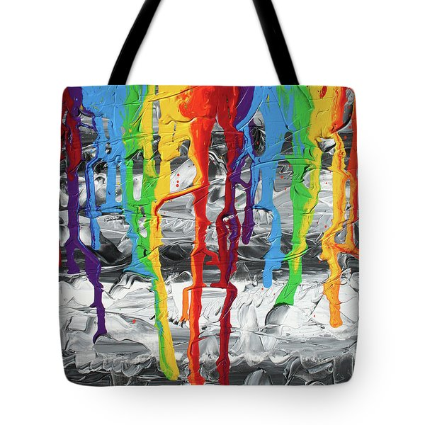 A Triumph Of Color Tote Bag