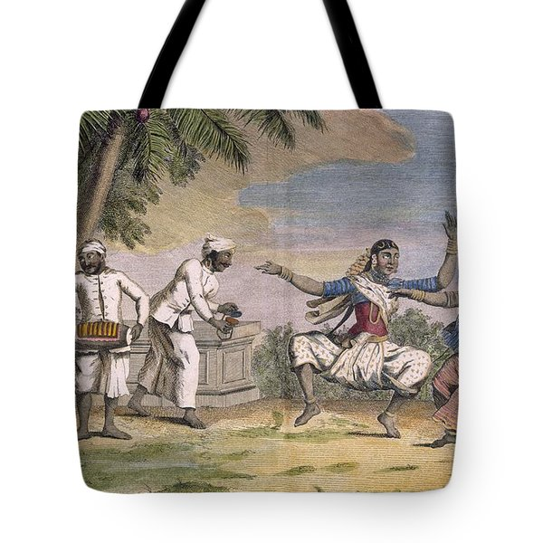 A Troupe Of Bayaderes, Or Indian Tote Bag