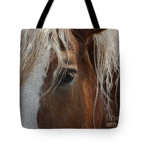 A Trusted Friend Tote Bag by Yvonne Wright