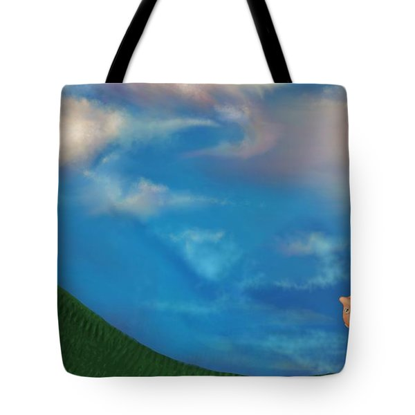 A Twin's Perspective Tote Bag