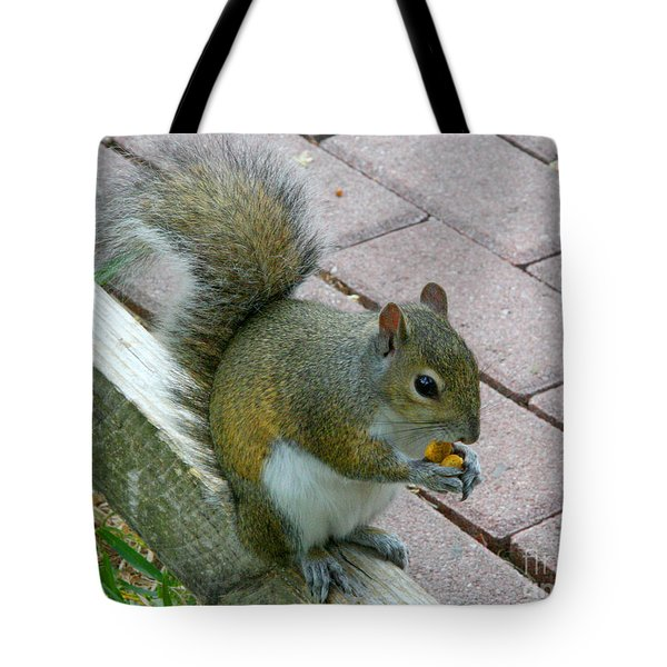 A Two-nut Lunch Tote Bag
