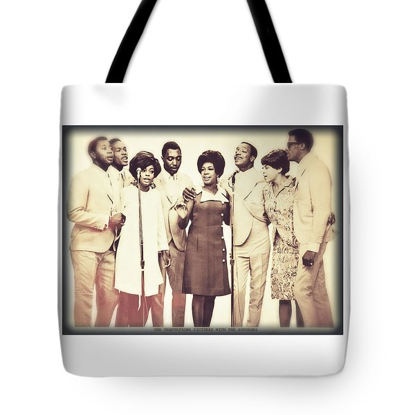 Motown Harmony Tote Bag by Kellice Swaggerty