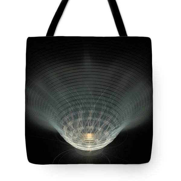 A Vibrant Candle Tote Bag by Peter R Nicholls
