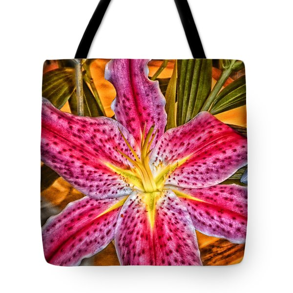 A Vibrant Lily For Your Decor Tote Bag by Thomas Woolworth