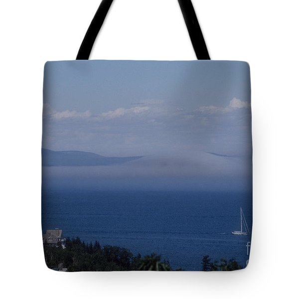 A View From Acadia Tote Bag by Darleen Stry