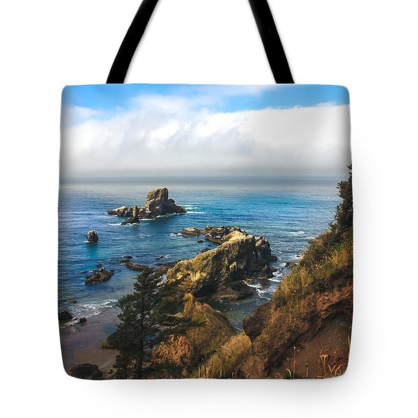 A View From Ecola State Park Tote Bag by Robert Bales