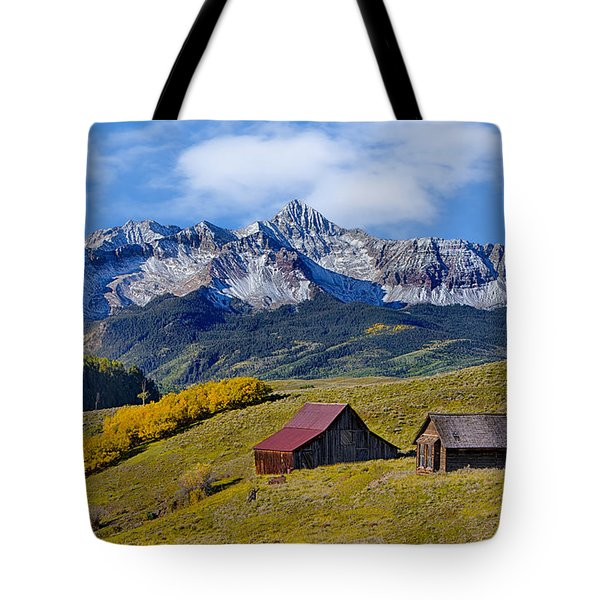 A View From Last Dollar Road Tote Bag by Jerry Fornarotto